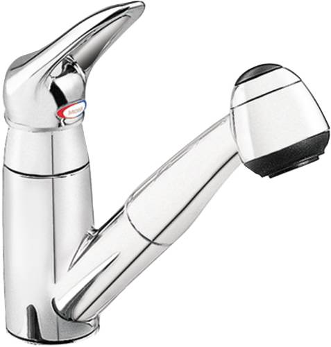plumbing hvac products llc moen salora pull out kitchen moen ca87316srs renzo spot resist stainless 1 handle pull