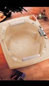 Aaryn Combo Bath Tub - Air Bath and Whirlpool
