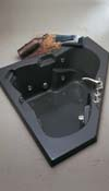 Newport Combination Whirlpool and Air Bath Tub
