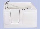 Tifton II Walk-in Soaker Tub - Tub Only