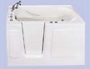 Tifton III Walk-in Soaker Tub - Tub Only